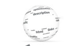 3D SEO Word Sphere