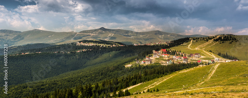 Ranca - a sky resort from the Carpathian mountains