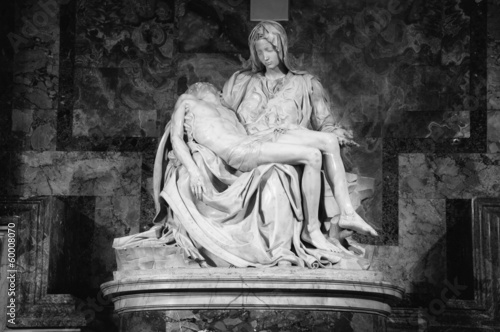 Michelangelo's Pietà in Saint Peter Basilica