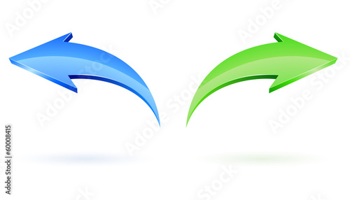 Next and Back Vector Arrows