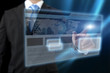 Ecran tactile futuriste - concept