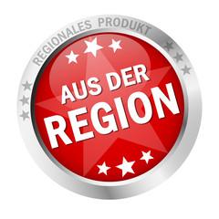 """Button mit Banner """" AUS DER REGION """""""