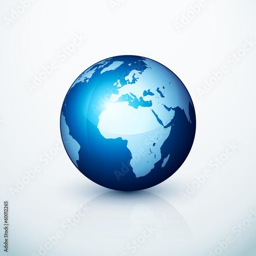 planète terre globe - 60012265