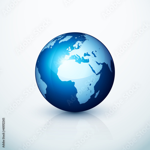 planeta ziemia glob