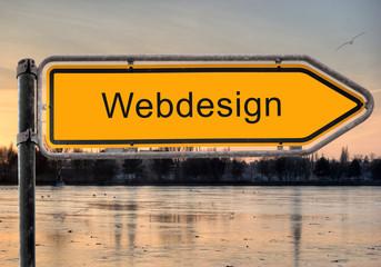 Strassenschild 9 - Webdesign