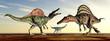 The Dinosaurs Spinosaurus and Puertasaurus - 60013891
