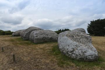 Le grand menhir brisé à Locmariaquer (Bretagne) - le plus gran