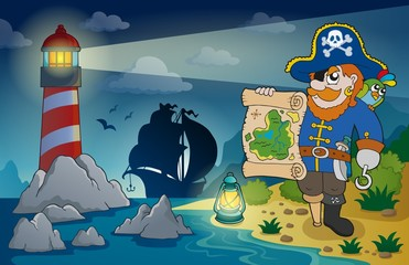 Lighthouse with pirate theme 2