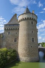 Le chateau-fort de Suscinio, résidence des Ducs de Bretagne