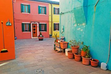 colorful corner