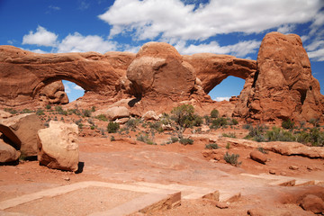 Arches National Park near Moab, Utah