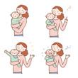 親子の表情