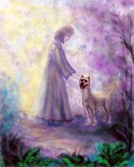 Собака и girl.3