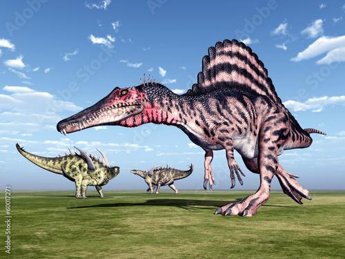 Spinosaurus and Gigantspinosaurus - 60017271