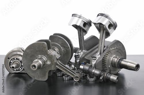 バイクエンジンの部品
