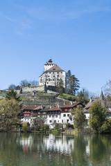Buchs, Altstadt, Werdenberg, Schloss, See, Schweiz