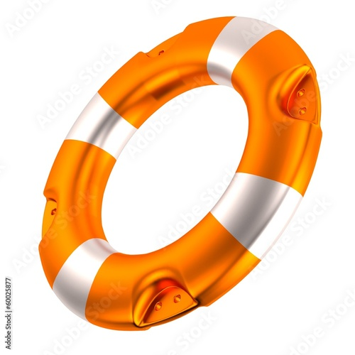 realistic 3d render of buoy