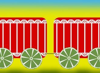 carrozze del circo