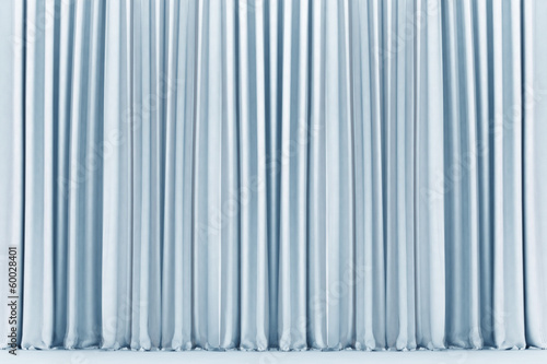 White theater curtain, background