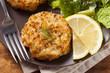 Organic Homemade Crab Cakes