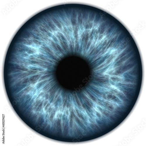 canvas print picture blaue iris