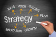 Strategy - Business and Marketing Concept