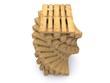 Stapel aus Holzpaletten