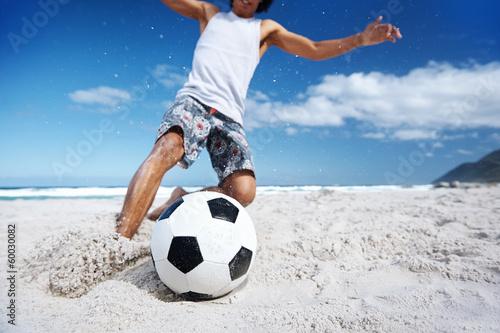 soccer skill beach - 60030082