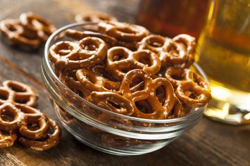 Organic Brown Mini Pretzels with Salt