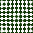 Dark Green and White Diagonal Checkers on Textured Fabric Backgr
