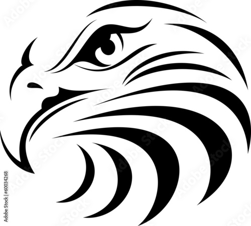 Eagle Face Silhouette
