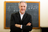 Fototapety Music teacher