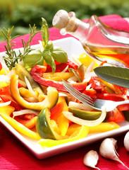 Peperonata - Paprikagemüse