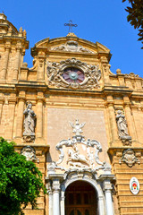 Church in the old town of Mazara del Vallo - Trapan