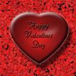 3d Red Valentine Heart