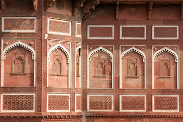 India, Red Fort in Agra