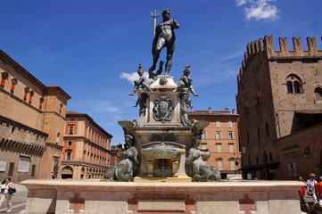Fontaine de Neptune à Bologne