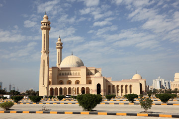 Al Fateh Grand Mosque in Manama, Bahrain
