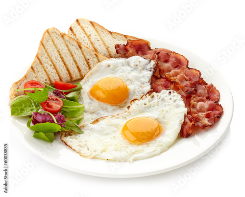 Fotobehang Egg Breakfast