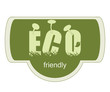 ECO friendly label for natural products