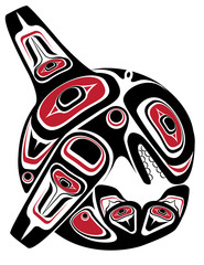 First Nations Influenced Orca