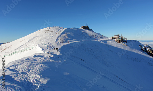 Winter scenery , Kasprowy Wierch is  mountain in Tatras