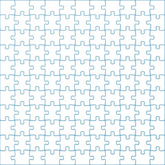 Puzzleteile Textur blau