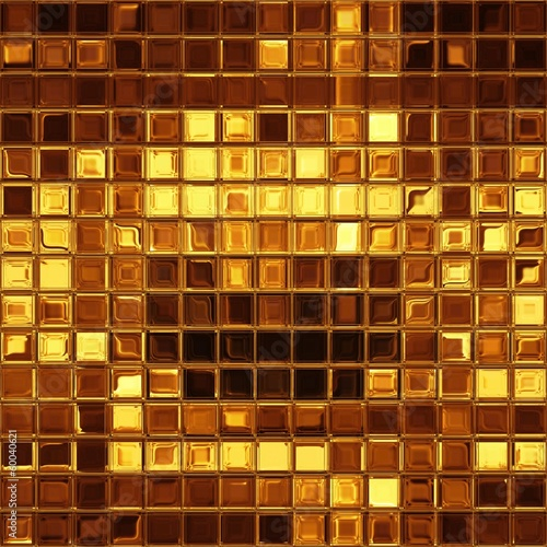 Golden mosaic