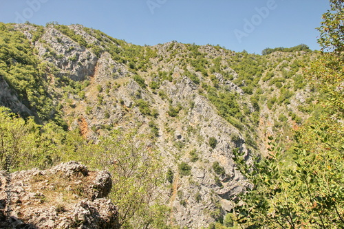 Dinaric karst and mountains in Croatia