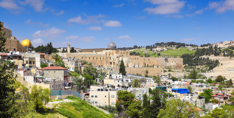 Panorama of Jerusalem