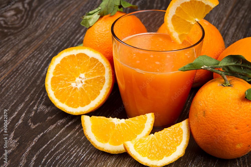 pomarańczowy pomarańczowy oranżada - powiększenie
