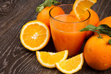 Fotoroleta Spremuta d'arancia