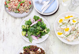Different types of salads for summer entertaining