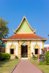 Wat Phrathat Hariphunchai temple, Lamphun province, Thailand.
